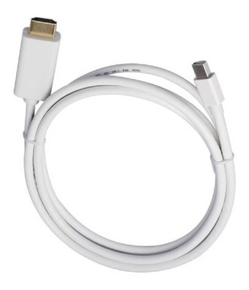 Cabo 2m Adaptador Mini Displayport X Hdmi Macbook Pro Apple