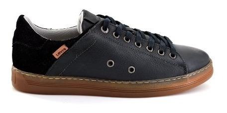 Zapato Casual Levis Para Hombre L218011 Negro [lev85]