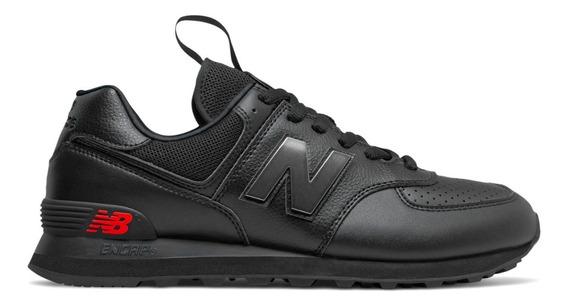 Zapatillas New Balance Lifestyle Hombre Ml574 Neg- Neg Clic