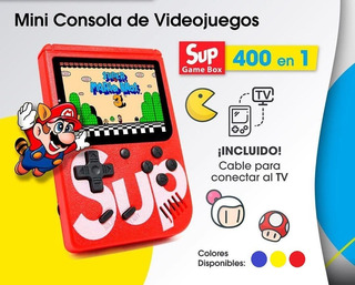 Consola Nintendo Sup Portatil 400 Juegos Retro Video Game