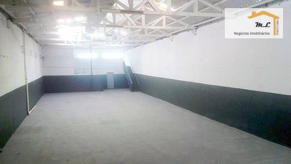Galpão Para Alugar, 480 M² Por R$ 7.000/mês - São José - São Caetano Do Sul/sp - Ga0137