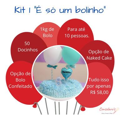 Kits Para Festa Com Bolo, Doces E Muito Mais.