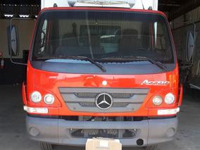 Mercedes-benz Accelo 1016 Ano 2012 Vermelho No Chassi