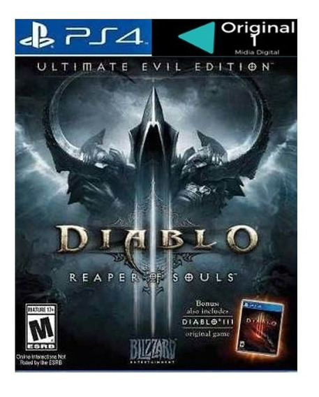 Diablo 3 Reaper Of Souls Ps4 Original 1 Por 6 Meses