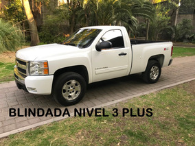 Chevrolet Cheyenne Z71 Full Blindada 3 Plus 2011 (impecable)