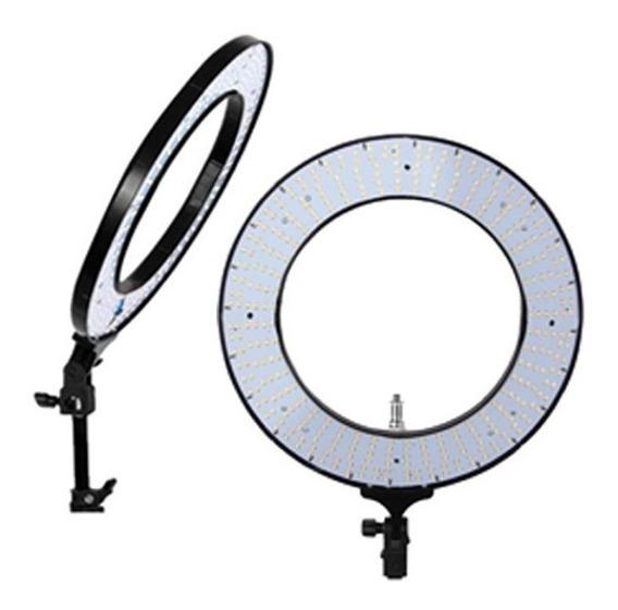 Iluminador Para Maquiador Ring Light + Suporte + Bolsa Rl-18