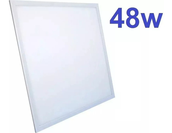Painel 62x62 Led 48w Bivolt Embutir 6000k Luz Branca
