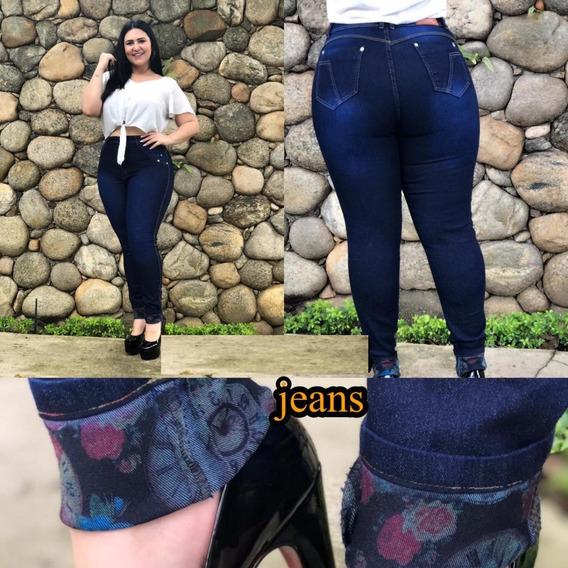 Calça Cintura Alta Feminina Jeans Hot Pants Com Detalhes