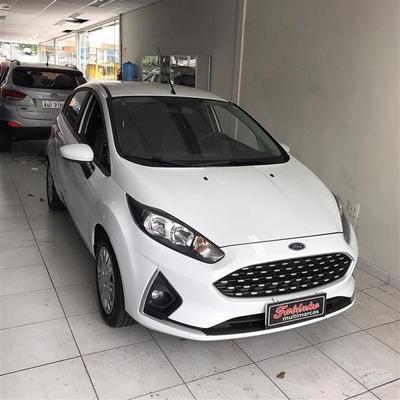 Fiesta 1.6 Flex Se Completo 2019 Branco Novinho Só 7mil Km