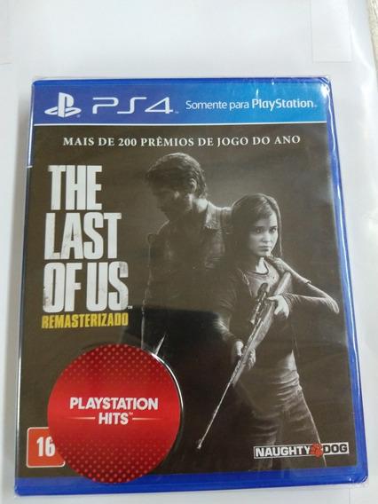 The Last Of Us Remasterizado Midia Fisica Ps4 Lacrado