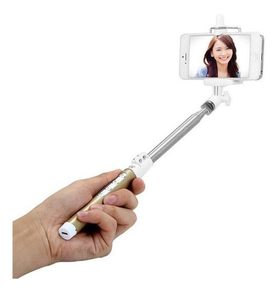Pau Selfie Bastão Foto Tripé Youtuber Bluetooth Android/ios