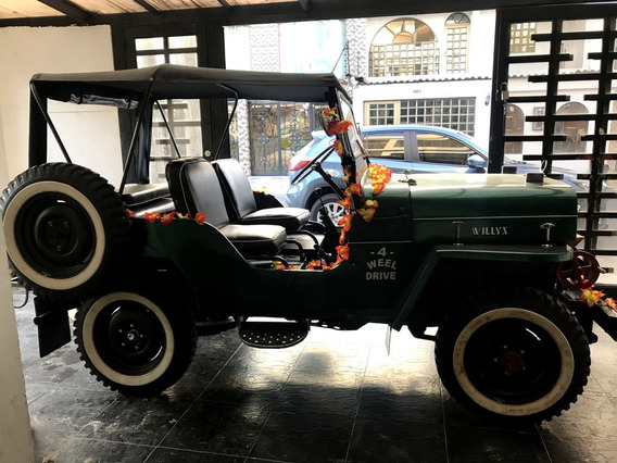 Jeep Willys 1954 Cj5; Permuto