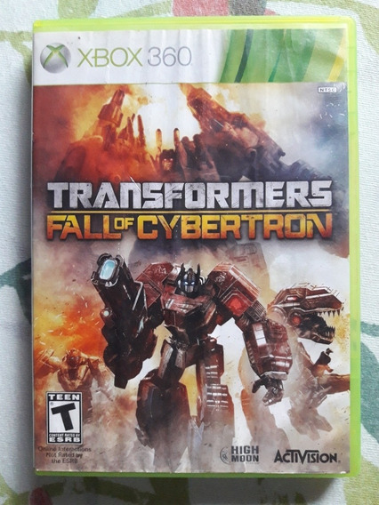 Transformers Fall Of Cybertron Xbox 360
