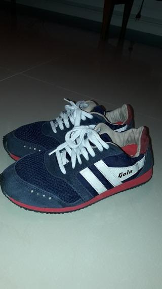 Zapatillas Gola Azul Originales