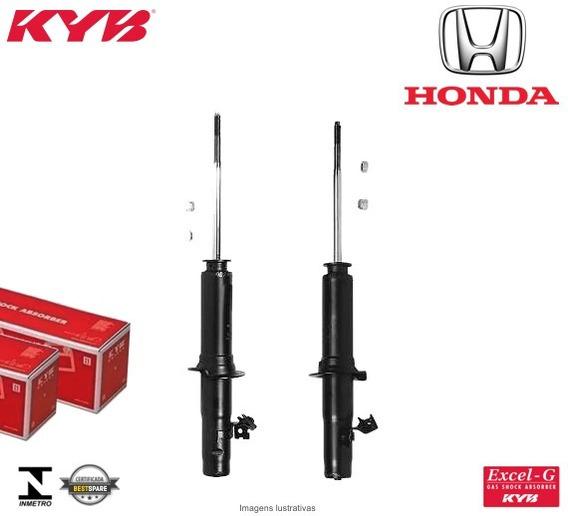 Par De Amortecedores Dianteiros Honda Civic Lx 1998 A 2000