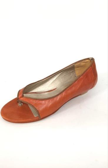 Zapatos De Cuero Correlola, 8552 Naranja