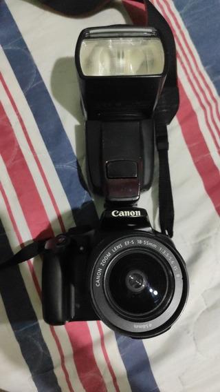 Camera Canon T3 + Flash Yn660