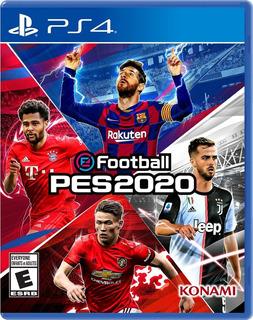 Pes 2020 Ps4 Nuevo Fisico Español Playstation 4 Efootball