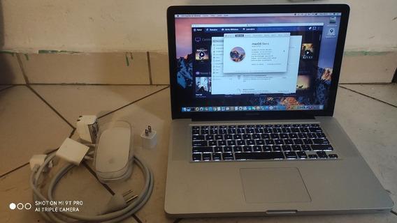 Macbook Pro, Core I7 2012, 8gb Ram, Sierra 10.12.6, 750hd