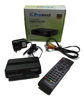 Combo Decodificador Deco Tv Digital Tda + Antena Externa Tda