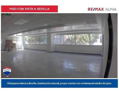 Oficina Comercial En Renta, Col. Juárez, Sevilla, Deleg. Cuauhtémoc, Cdmx.