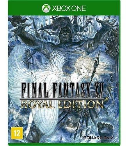 Jogo Final Fantasy Xv: Royal Edition - Xbox One Mídia Física