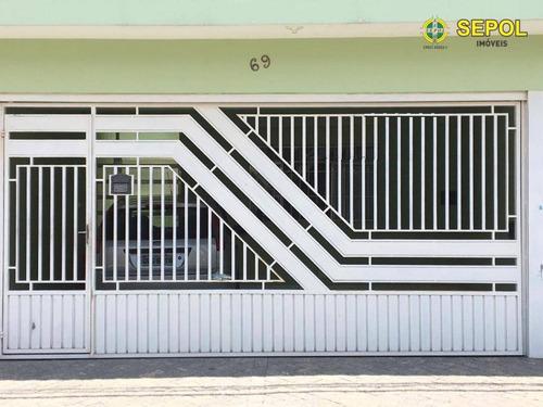 Sobrado Com 4 Dormitórios À Venda, 150 M² Por R$ 440.000,00 - Jardim São José - São Paulo/sp - So0143