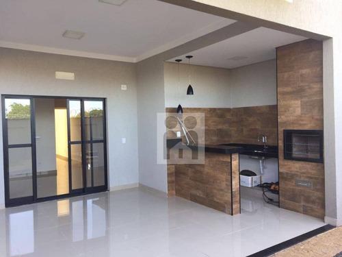 Imagem 1 de 30 de Casa Residencial À Venda, Condomínio San Marco I- Ilha Cenerê, Bonfim Paulista. - Ca0235