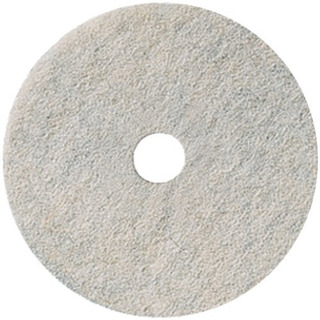 3m Natural Blend White Pad 3300, 17 (case Of 5)