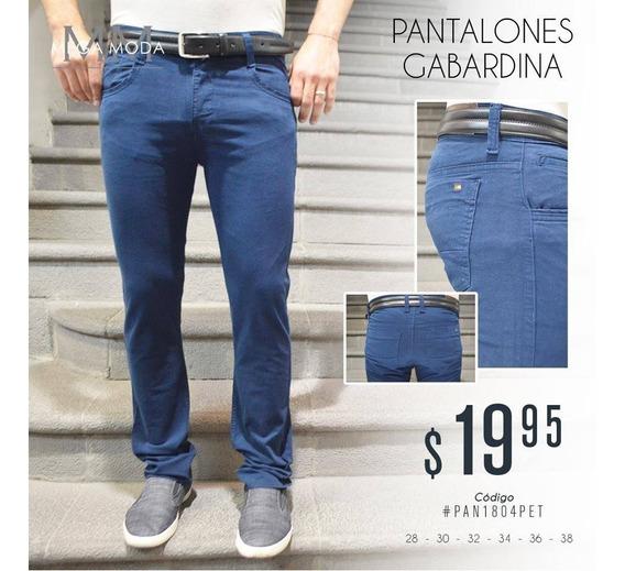 Colección Pantalones Gabardina Para Caballeros