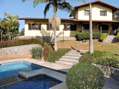 Terras Do Madeira- Excelente Casa Em 2 Lotes Ensolarados E Rua Sem Saída, Com Muita Privacidade E Vista Maravilhosa! - Ca1453