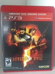 Jogos De Ps3 Midia Fisica Resident Evil 5