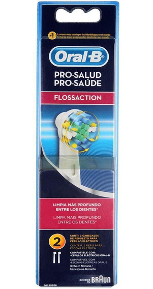 Refil Escova Elétrica Oral-b Flossaction - C/2