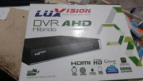 Dvr Hvr Hd 4 Canais 1080p Luxvision