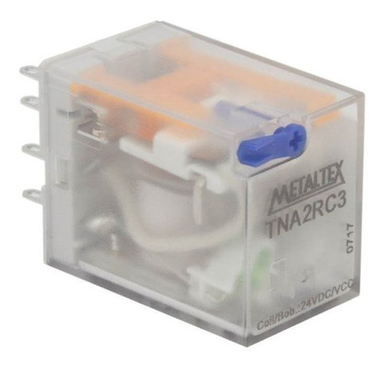 Relé Subminiatura 10a Tna2rc3 24vcc Metaltex