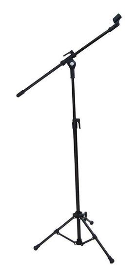 Pedestal Para Microfone Vector Pmv 01 P Preto Compacto