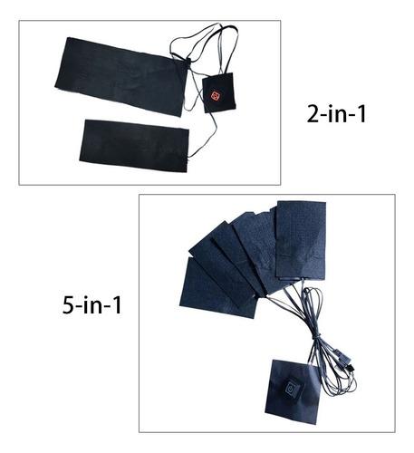 L/ámina calefactora PTC de Fibra compuesta L/ámina calefactora con Almohadilla t/érmica para Guantes Interruptor de Control de Temperatura de Tres velocidades L/ámina calefactora para Guantes