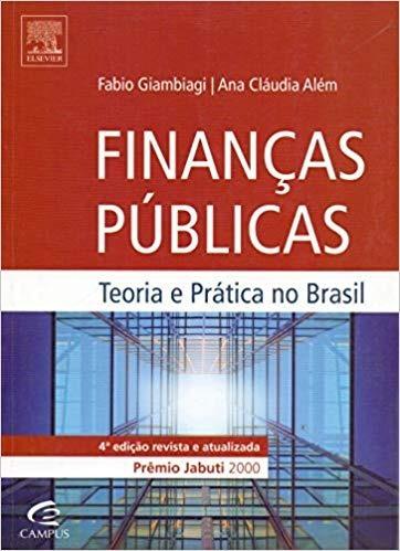 Livro Finanças Públicas - 4ªed