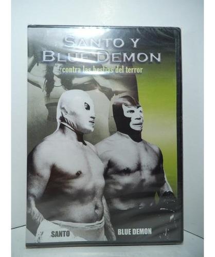 Santo Y Blue Demon Vs Las Bestias Del Terror Dvd Lucha Libre