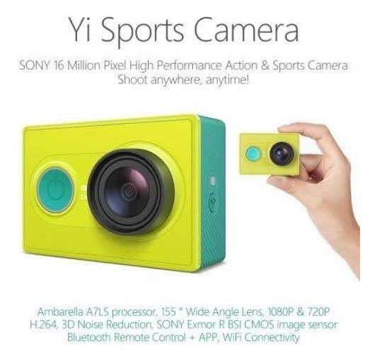 Xiaomi Action Cam Yi 1080p
