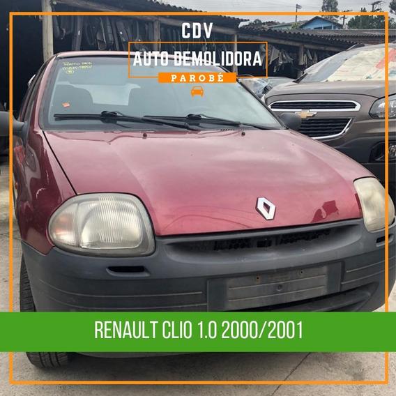 Sucata Renault Clio 1.0 2001 Disponível Para Venda De Peças