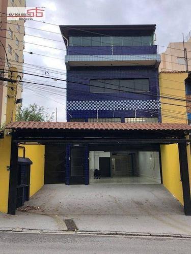 Imagem 1 de 27 de Prédio Para Alugar, 500 M² Por R$ 9.780,00/mês - Freguesia Do Ó - São Paulo/sp - Pr0045