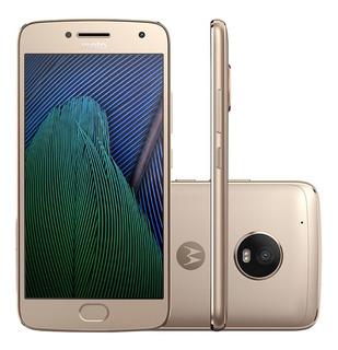 Motorola Moto G5 Plus Xt1683 Platinum Vitrine Leia Anuncio