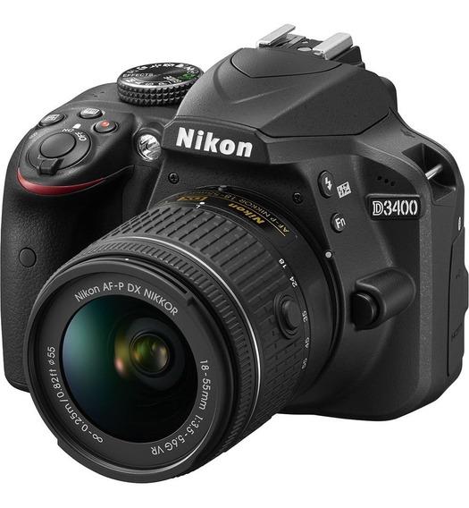 Nikon D3400 + Kit 18-55mm Original Y Nuevo En Caja Garantía