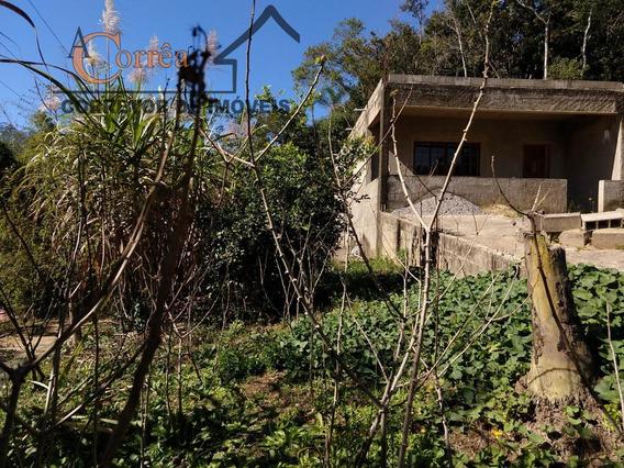 Terreno Com Casa Em Construcao Em Juquitiba