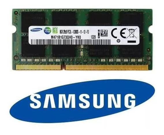 Memoria Notebook Samsung 16gb 2x8gb Ddr3l 14900 1866mhz 204