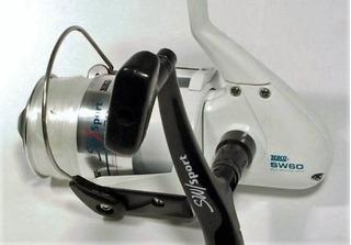 Zebco - Carrete Para Pesca En Agua Salada Sw60 Sport. Nuevo.
