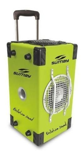 Caixa De Som Amplificada Sumay 60w Bluetooth Sm-cap03