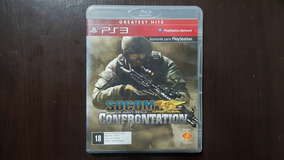 Socom Confrontation Ps3 Playstation 3 Seminovo