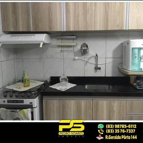 Belíssimo Apt C/ 3 Qts, 2 Ste, À Venda, 78 M² Por R$ 400.000 - Cabo Branco - João Pessoa/pb - Ap1916